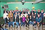 London Trip: The Clounmacon GAA club team and their supporters pictured in Listowel on Friday morning prior to their trip to London  for  the weekend.