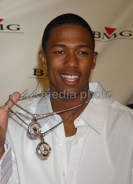 Feb. 8, 2004; Hollywood, CA, USA; Singer NICK CANNON during the BMG 46th Annual Grammy Awards Post-Grammy Gala Celebration held at The Avalon. Mandatory Credit: Photo by Laura Farr/AdMedia. (©) Copyright 2003 by Laura Farr