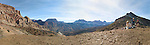One of my first Panoramic images created, this one shows off the magnificent view from the saddle between Nankoweap and Kwagunt canyons.