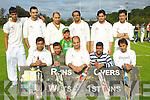 CHRICKET: The Killarney cricket team who took on North kerry Cricket team in the NK 20/20 League at McDowds park, Tralee on Thursday evening. Front l-r: Shahrul Islam, Afsarul Islam, Raza Ur Rehman (capt), Shah Jhan and Khuram Iqbal. Back l-r: Tofaoil Ahnjedy, Jamil Ahmed, Amir Mehniood, Ananta Kabir, Nadeem Amjad, Nasir Mehnissd and Raza Kabir