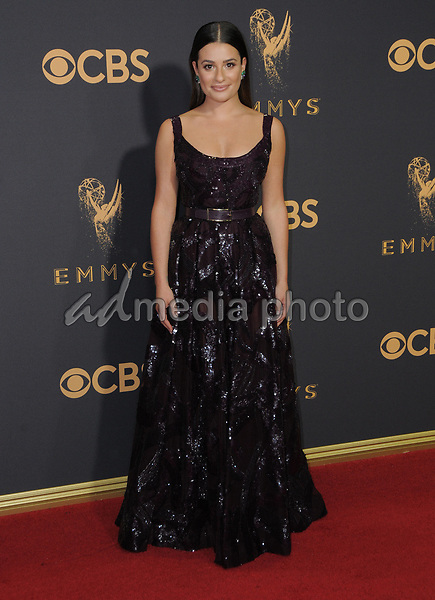 17 September  2017 - Los Angeles, California - Lea Michelle. 69th Annual Primetime Emmy Awards - Arrivals held at Microsoft Theater in Los Angeles. Photo Credit: Birdie Thompson/AdMedia