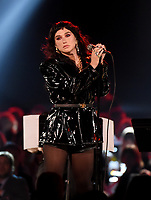 LOS ANGELES - JANUARY 24: Kesha performs on the 2020 MusiCares Person of the Year tribute concert honoring Aerosmith on January 24, 2020 in Los Angeles, California. (Photo by Frank Micelotta/PictureGroup)