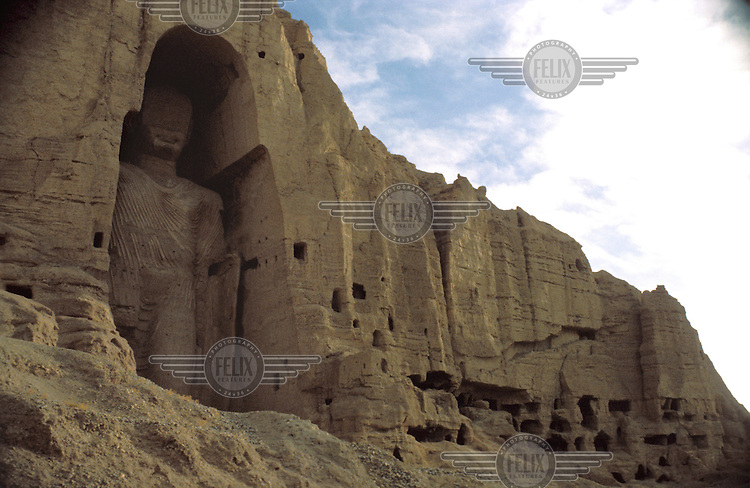 © Derek Henderson / Panos Pictures..Bamiyan, Afghanistan...The famous Buddha statues at Bamiyan, destroyed in 2001 by the Taliban.