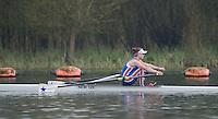 Caversham. Berkshire. UK<br /> Helen O'RIORDAN.<br /> 2016 GBRowing U23 Trials at the GBRowing Training base near Reading, Berkshire.<br /> <br /> Monday  11/04/2016 <br /> <br /> [Mandatory Credit; Peter SPURRIER/Intersport-images]