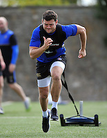 Jeff Williams of Bath Rugby in action. Bath Rugby training session on August 4, 2015 at Farleigh House in Bath, England. Photo by: Patrick Khachfe / Onside Images