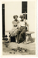 BNPS.co.uk (01202 558833)<br /> Pic: Bonhams/BNPS<br /> <br /> Fleming with his neice Mary Anne Johnston at his home in Barton Mills in Suffolk - she is now selling two culture's from of his ground breaking penicillin discovery that has since saved millions of lives.<br /> <br /> Two samples of mould that legendary scientist Sir Alexander Fleming used to produce penicillin have sold for almost &pound;25,000.<br /> <br /> Both specimens of the yellow-green Penicillium Notatum fungus are contained on a glass disc and date back to the 1930s when Fleming was developing his 1928 discovery of penicillin. <br /> <br /> The samples helped pave the way for the development of antibiotics which people first started to use in 1942 to treat infections which often would prove fatal.<br /> <br /> The treatment has gone on the save millions of lives across the world.