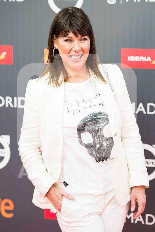 "Mabel Lozano attends to the presentation of the ""Premios Platino"" at Palacio de Cristal in Madrid. April 07, 2017. (ALTERPHOTOS/Borja B.Hojas)"