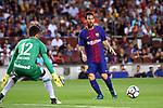 52e Trofeu Joan Gamper.<br /> FC Barcelona vs Chapecoense: 5-0.<br /> Elias vs Lionel Messi.