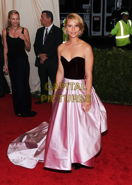 05 May 2014 - New York, New York- Claire Danes. &quot;Charles James: Beyond Fashion&quot; Costume Institute Gala. <br /> CAP/ADM/CS<br /> &copy;Christopher Smith/AdMedia/Capital Pictures