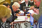 Teddy Healy at the North Kerry, West Limerick Election 2011 count at the Brandon Hotel Tralee on Saturday.