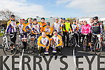 At the St Brendan's NS FENIT Coastal Cycle on Saturday were The Chain Gang Cycling Club