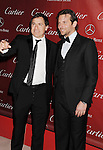 PALM SPRINGS, CA - JANUARY 05: David O. Russell and Bradley Cooper arrive at the 24th Annual Palm Springs International Film Festival - Awards Gala at the Palm Springs Convention Center on January 5, 2013 in Palm Springs, California
