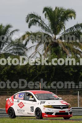 KUALA LUMPUR, MALAYSIA - May 29: Mark DARWIN of Malaysia (#19) Malaysia Championship Series Round 1 at Sepang International Circuit on May 29, 2016 in Kuala Lumpur, Malaysia. Photo by Peter Lim/PhotoDesk.com.my