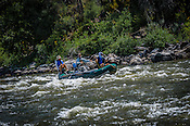 Fishermen & Women floating the Upper Colorado River from Rancho Del Rio to State Bridge in the morning of July 21, 2016.