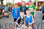 Children also took part in the Jack and Jill 10km walk and run in Kenmare on Saturday. .Front L-R Mark Looney and Paraig Cronin. .Back L-R Oisin Quill, Daniel Crowley and Cian O'Sullivan.