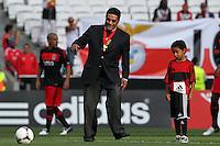 Eusebio da Silva Pereira - 27.07.2012 - Benfica / Real Madrid - Coupe Eusebio ..Photo : Carlos Rodrigues / Icon Sport....