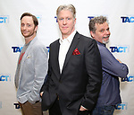 "Jeffrey C. Hawkins, Karl Kenzler and Joel Jones attends the TACT/The Actors Company Theatre Cast Meet & Greet for  ""Three Wise Guys"" on February 15, 2018 at the TACT Studios in New York City."