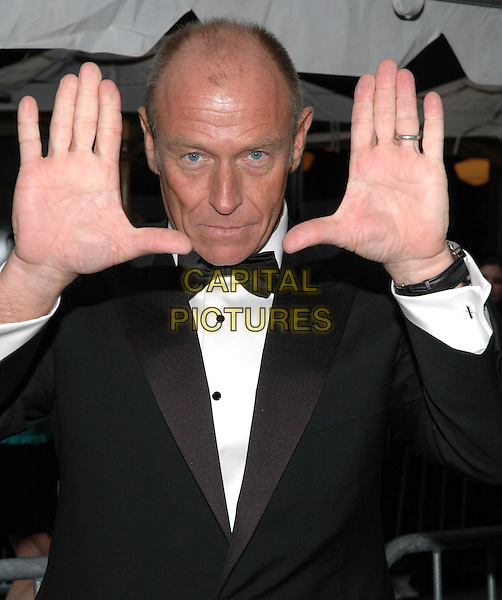 CORBIN BERSEN of General Hospital.Arrivals at the 2005 Daytime Emmys at Radio City Music Hall in New York City, USA, 20 May 2005..half length hands frame funny.Ref: ADM.www.capitalpictures.com.sales@capitalpictures.com.©Patti Ouderkirk/AdMedia/Capital Pictures.