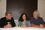 Thomas G. Waites & Deborah Van Valkenburgh & Michael Beck - The Warriors - 30 year reunion during Q & A at the Super Megashow & Comic Fest on August 30, 2009 in Secaucus, New Jersey (Photo by Sue Coflin/Max Photos)
