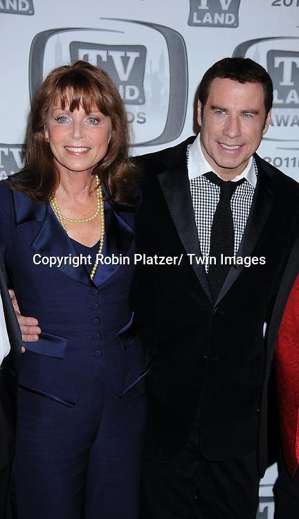 Welcome Back Kotter cast including Marcia Strassman, John Travolta attending The TV Land Awards 2011 .on April 10, 2011 at the Jacob Javits Center in New York City.