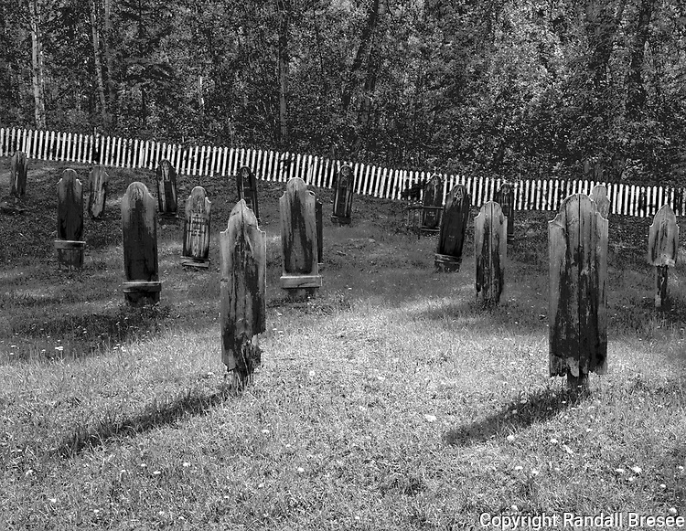 &quot;Pioneer Cemetery, Dawson&quot; Yukon Territory, Canada <br />
