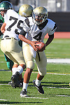 Torrance, CA 10/06/11 - Gabriel Gonsalves (Peninsula #4) in action during the Peninsula vs South Torrance Frosh football game.