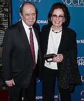 "WESTWOOD, LOS ANGELES, CA, USA - MARCH 22: Bob Newhart, Ginnie Newhart at the Geffen Playhouse's Annual ""Backstage At The Geffen"" Gala held at Geffen Playhouse on March 22, 2014 in Westwood, Los Angeles, California, United States. (Photo by Xavier Collin/Celebrity Monitor)"