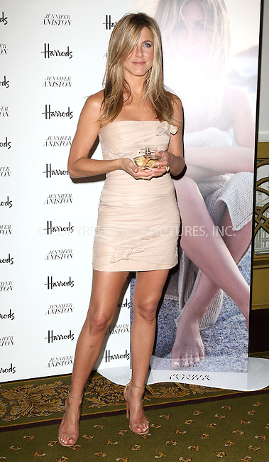 """WWW.ACEPIXS.COM . . . . .  ..... . . . . US SALES ONLY . . . . .....July 21 2010, London....Actress Jennifer Aniston at a signing of her new fragrance, """"Lolavie' in Harrods department store on July 21 2010 in London....Please byline: FAMOUS-ACE PICTURES... . . . .  ....Ace Pictures, Inc:  ..Tel: (212) 243-8787..e-mail: info@acepixs.com..web: http://www.acepixs.com"""