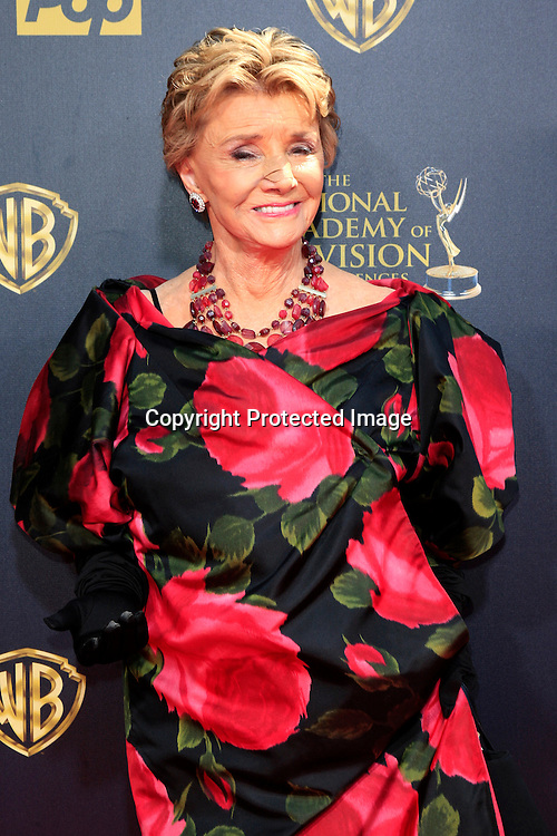 BURBANK - APR 26: Peggy McCay at the 42nd Daytime Emmy Awards Gala at Warner Bros. Studio on April 26, 2015 in Burbank, California