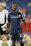 04 September 2004: Marshall Leonard during the second half. The San Jose Earthquakes defeated the New England Revolution 1-0 at Gillette Stadium in Foxboro, MA during a regular season Major League Soccer game..