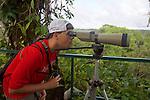 Jake Kerr On Canopy Tower, Tiputini