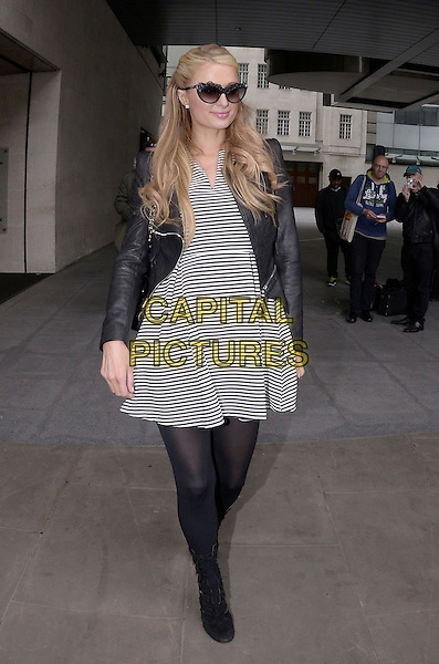 LONDON, ENGLAND - 15th MAY: Paris Hilton at BBC Radio 1 London, England, 15th May 2015<br /> CAP/DYL<br /> &copy;Dylan/Capital Pictures