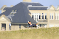 Byeong Hun An (KOR) on the 10th fairway during Round 2 of the 2015 Alfred Dunhill Links Championship at Kingsbarns in Scotland on 2/10/15.<br /> Picture: Thos Caffrey | Golffile