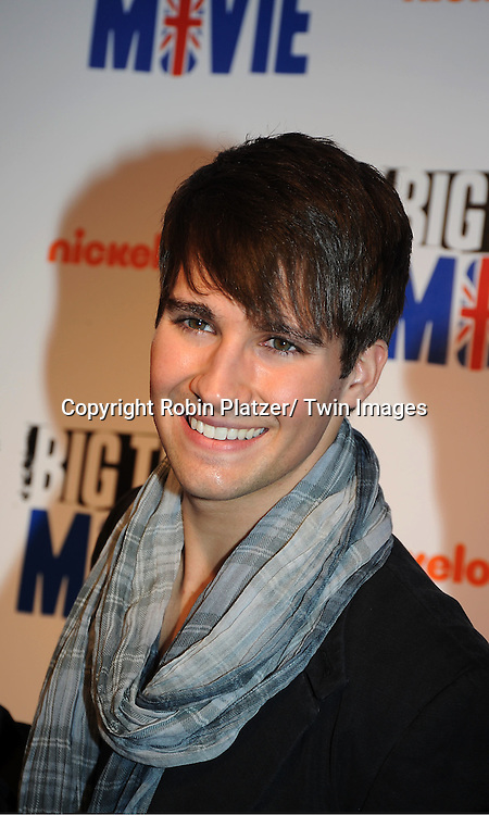 "Big Time Rush""s  James Maslow attend The movie premiere of "" Big Time Movie"" starring ..Big Time Rush of Nickelodeon on March 8, 2012 at 583 Park Avenue in New York City."
