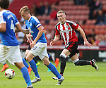 Caolan Lavery of Sheffield Utd during the League One match at Bramall Lane Stadium, Sheffield. Picture date: September 17th, 2016. Pic Simon Bellis/Sportimage