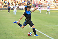 STANFORD, CA - JUNE 29: Cristian Espinoza #10 during a Major League Soccer (MLS) match between the San Jose Earthquakes and the LA Galaxy on June 29, 2019 at Stanford Stadium in Stanford, California.