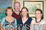 CHEERS: Annette Corboy, Anthony Smith, Lorraine Smith and Marie Keohane, Beaufort, seeing in the New Year in the Bianconi Restaurant, Killorglin.   Copyright Kerry's Eye 2008