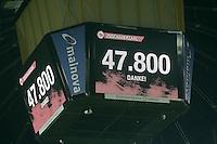 Zuschauerzahl beim Derby auf dem Videowuerfel