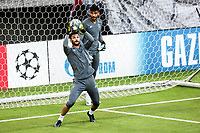 Hugo Lloris, Goalkeeper of Tottenham Hotspur attends a training ahead of the UEFA Champions League match against Olympiacos FC, in Karaiskaki Stadium in Piraeus, Greece. Tuesday 17 September 2019