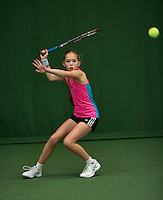 Almere, Netherlands, December 6, 2015, Winter Youth Circuit,  Floor Lissone (NED)<br /> Photo: Tennisimages/Henk Koster