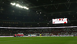 Scotland and England teams uphold a two minutes silence during the FIFA World Cup Qualifying Group F match at Wembley Stadium, London. Picture date: November 11th, 2016. Pic David Klein/Sportimage