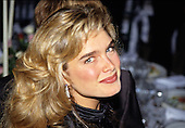 Actress Brooke Shields arrives for the American Film Institute (AFI) Gala in Washington, DC on September 26, 1989.<br /> Credit: Ron Sachs / CNP