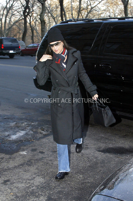 Demi Moore out and about in New York City. January 22, 2004. Please byline: NY Photo Press.   ..*PAY-PER-USE*      ....NY Photo Press:  ..phone (646) 267-6913;   ..e-mail: info@nyphotopress.com