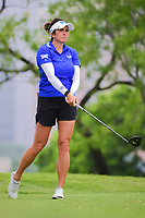 Gerina Piller (USA) watches her tee shot on 3 during round 3 of  the Volunteers of America Texas Shootout Presented by JTBC, at the Las Colinas Country Club in Irving, Texas, USA. 4/29/2017.<br /> Picture: Golffile | Ken Murray<br /> <br /> <br /> All photo usage must carry mandatory copyright credit (&copy; Golffile | Ken Murray)
