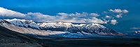 Lost River Range Panorama, this is the home of the shy Mount Borah who is hiding his peak in the clouds. <br />