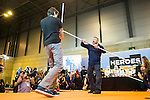 "British actor Ray Parks, who was Darth Maul at ""Star Wars Episode I"" visit Expocomic 2016 in Madrid, Spain. December 03, 2016. (ALTERPHOTOS/BorjaB.Hojas)"