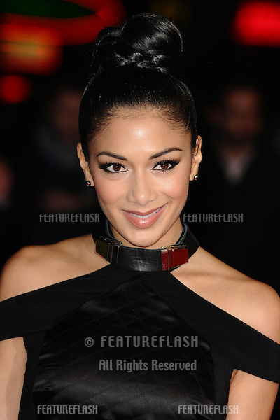 "Nicole Scherzinger arrives for the ""Jack Reacher"" premiere at the Odeon Leicester Square, London. 10/12/2012 Picture by: Steve Vas / Featureflash"