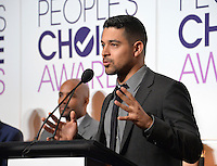 LOS ANGELES, CA. November 15, 2016: Actor Wilmer Valderrama at the Nominations Announcement for the 2017 People's Choice Awards at the Paley Center for Media, Beverly Hills.<br /> Picture: Paul Smith/Featureflash/SilverHub 0208 004 5359/ 07711 972644 Editors@silverhubmedia.com