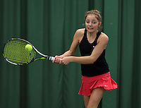 Rotterdam, The Netherlands, March 19, 2016,  TV Victoria, NOJK 14/18 years, Madelief Hageman (NED)<br /> Photo: Tennisimages/Henk Koster