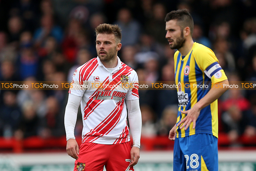 Matthew Godden of Stevenage during Stevenage vs Accrington Stanley, Sky Bet EFL League 2 Football at the Lamex Stadium on 6th May 2017